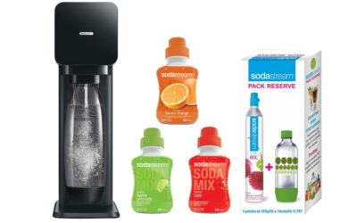SodaStream black friday 2020 : acheter une machine à soda à petit prix !